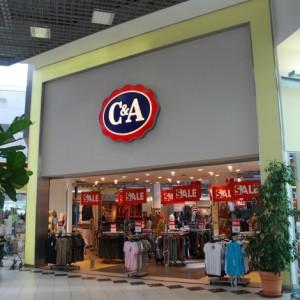 C&A prodejna